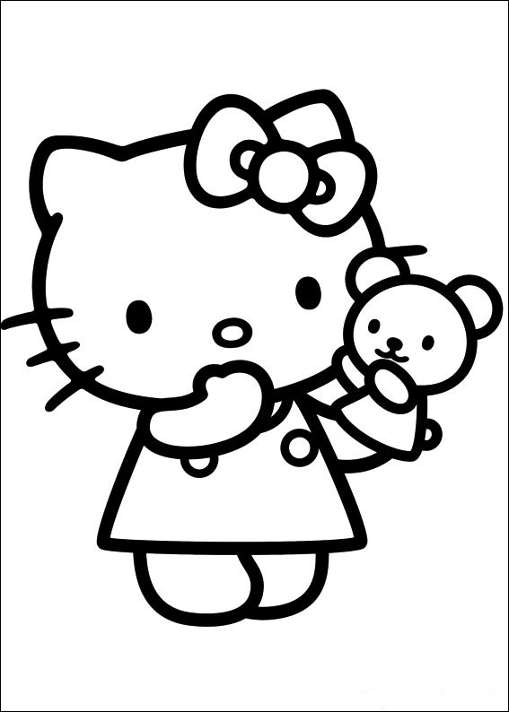 Hello Kitty Ausmalbilder 2