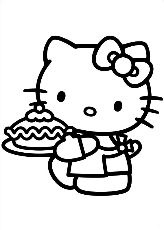 Hello Kitty ausmalbilder