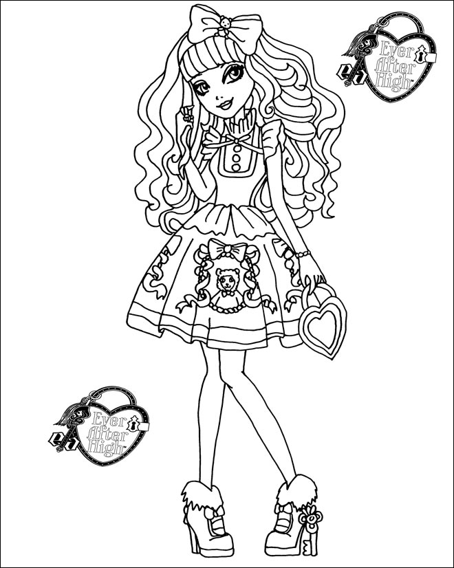 Ever After High 07 Blondie Lockes