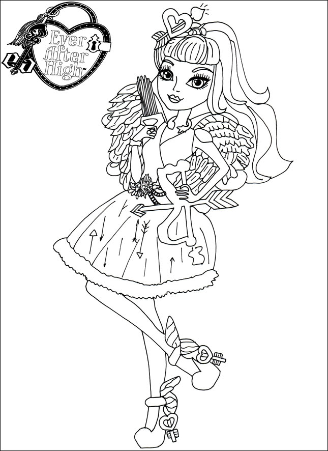 Ever After High 09 zum ausmalen
