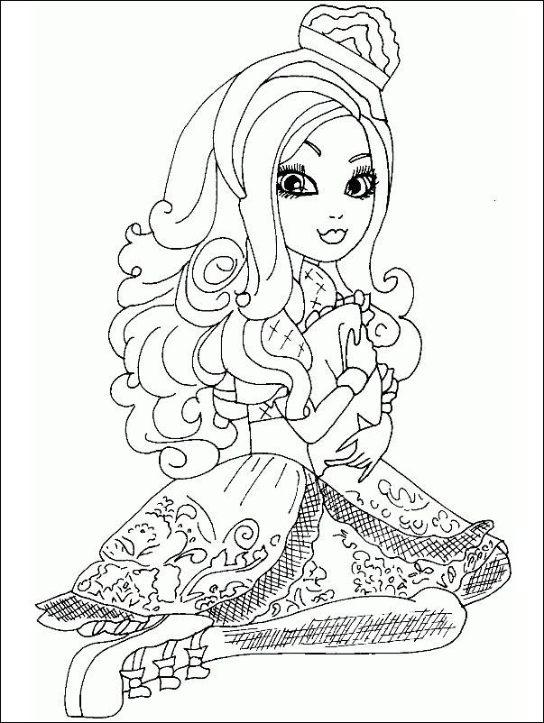 Ever After High 14 zum drucken