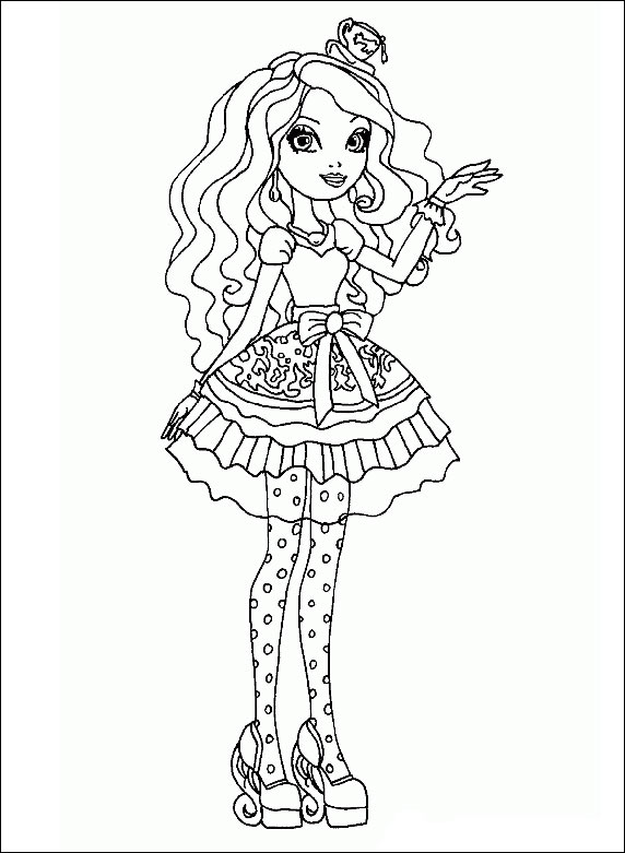 Ever After High 15 zum ausdrucken